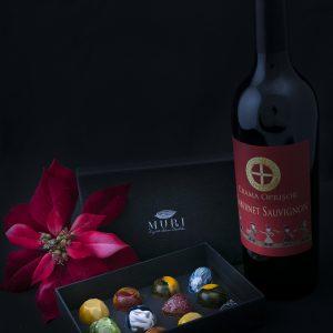 pachete cadou ciocolata, cadouri craciun ciocolata, cadouri dulci, trufe ciocolata