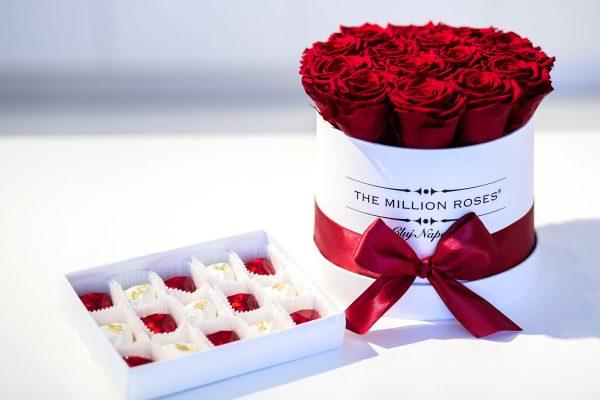 ciocolata artizanala flori criogenata cadouri de lux valentine's day