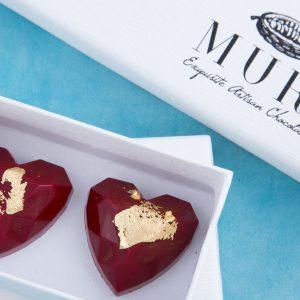 inimioare ciocolata, cadou martisor, cadou ciocolata 1 martie
