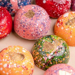 Cutie Muri Selection Gold 24k, ciocolata cu aur, cadouri ciocolata, cadouri ziua indragostitilor